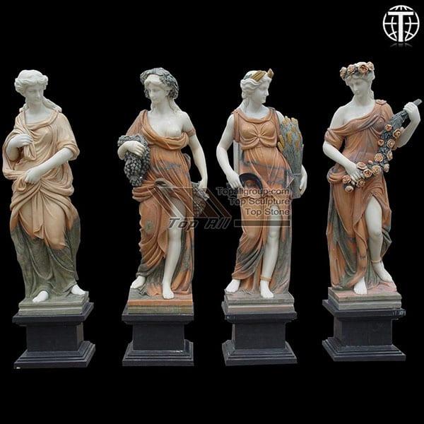 Life size marble four season sculpture TPAS-013 Featured Image