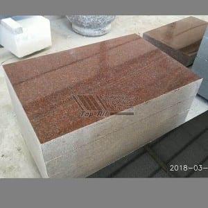 China Factory Granite Slant Memorials Flat Footstones TATBS-010