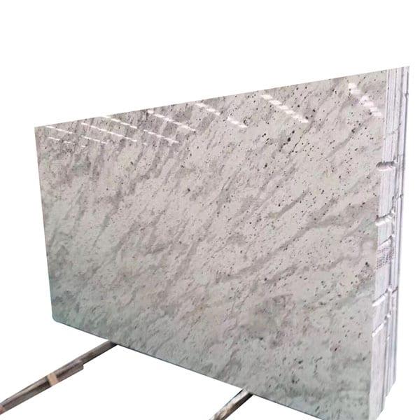 Bottom price Marble Water Garden Fountain - Andromeda white granite slab. – Top All Group