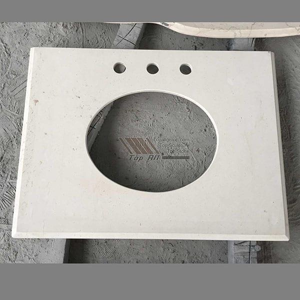 Professional China Black Stone Basin - China Yellow Marble countertop Vanity Top – Top All Group