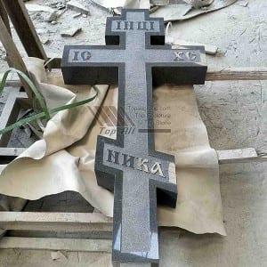 Russian Style Granite Tombstone Headstone TATBS-006