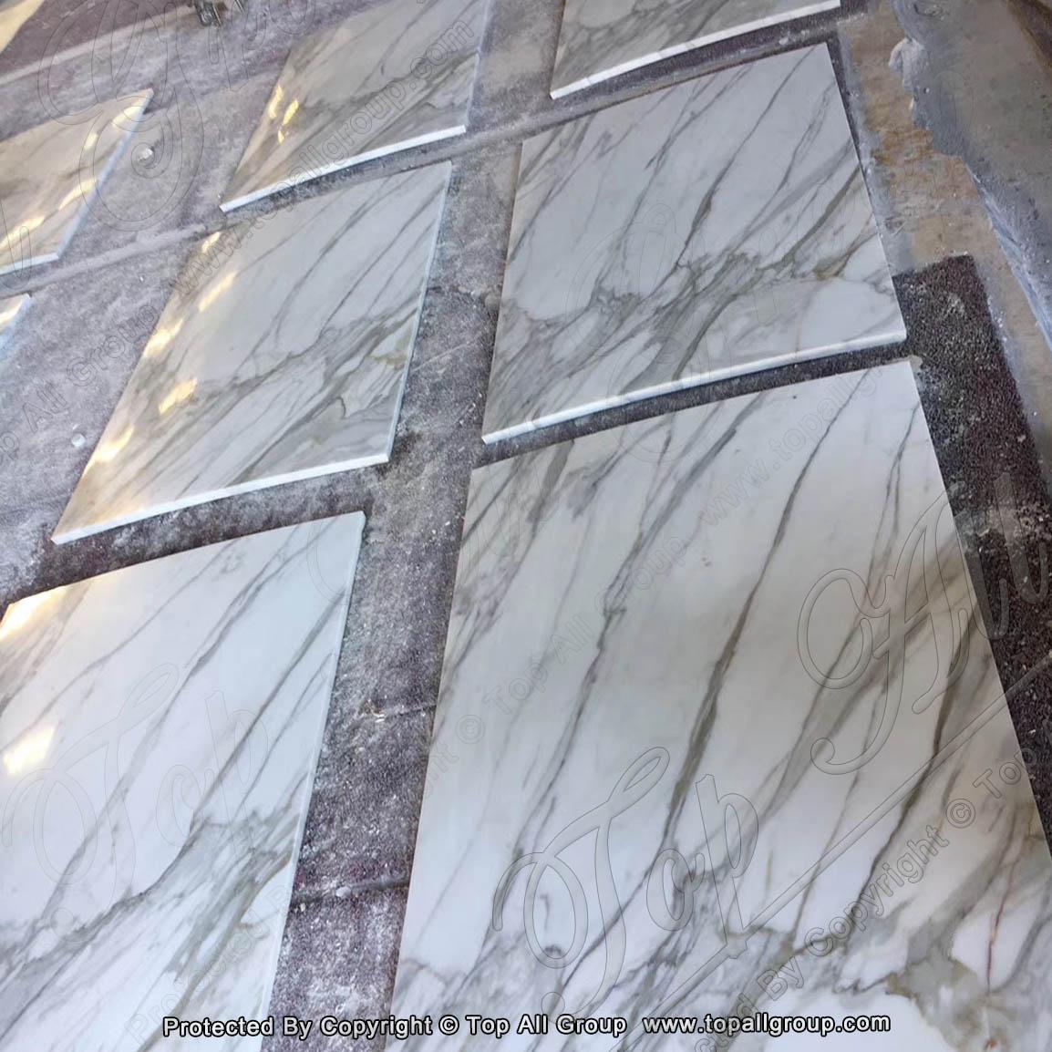 Arabescato Corchia Marble flooring Tile