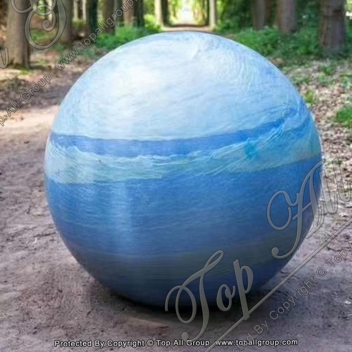Azul Macaubas Marble Ball Fountain