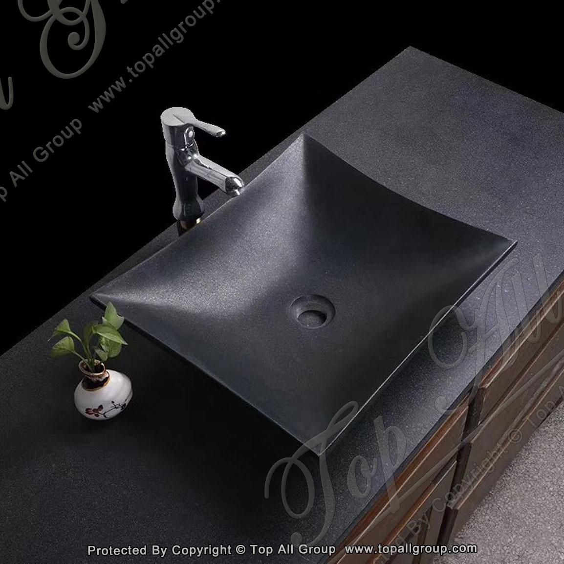 Black Granite Washing Basin
