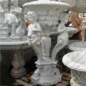 Classic style marble flower pot TAFV-014