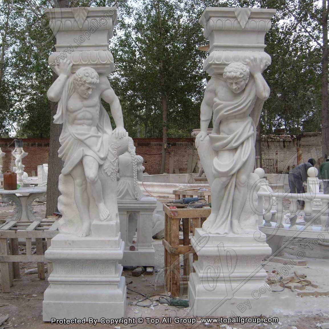 European style marble Roman column TAMC-008 Featured Image