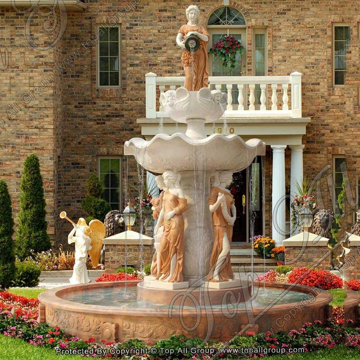 Factory Directly Garden Stone Fountain