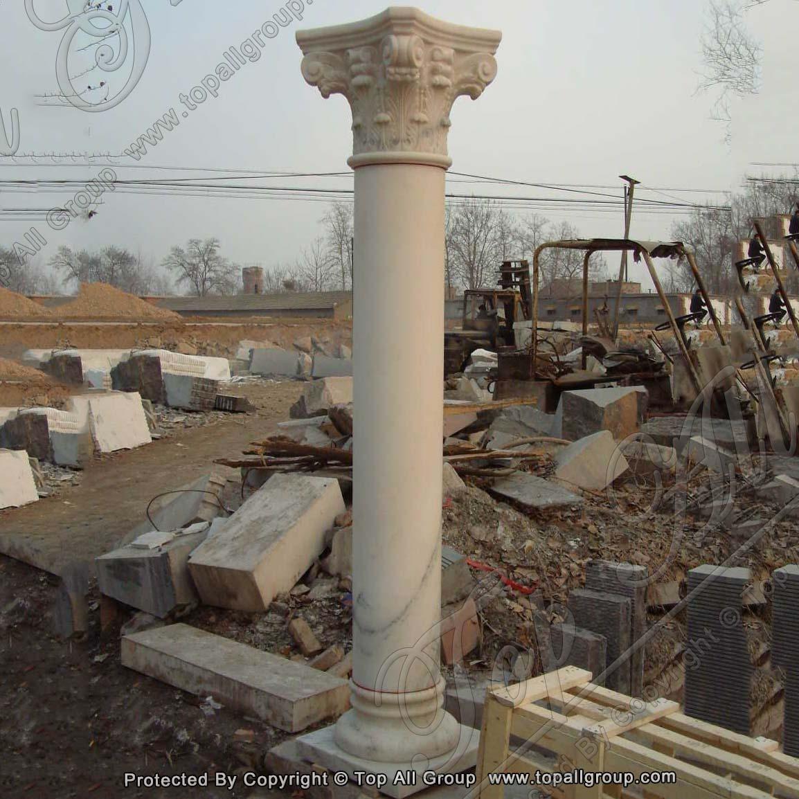Faux marble columns for sale