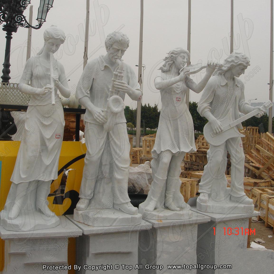 Four season goddess marble statues for garden