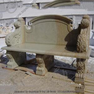 Garden Marble Table Bench European Style Garden Bench Marble Table And Bench TAMB-021