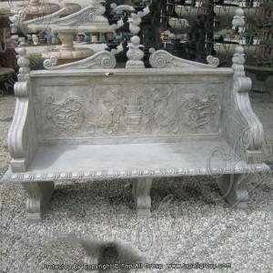 Garden Stone Bench Stone Bench Garden Marble Bench For Sale TAMB-014