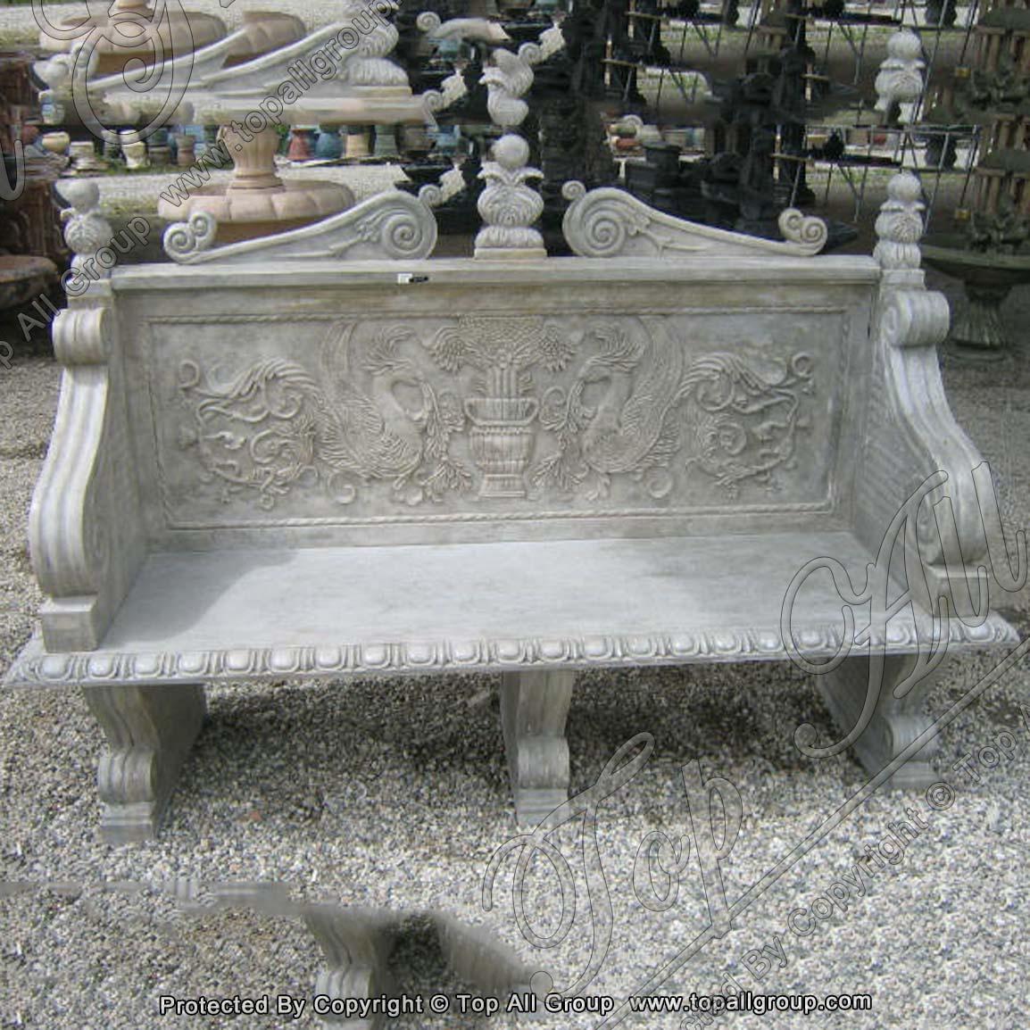 Garden Stone Bench Stone Bench Garden Marble Bench For Sale