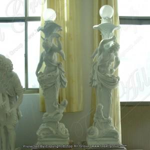 Garden woman statue lamp TALP-013