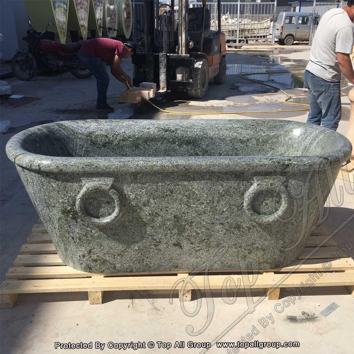 Green Marble Bath Tub