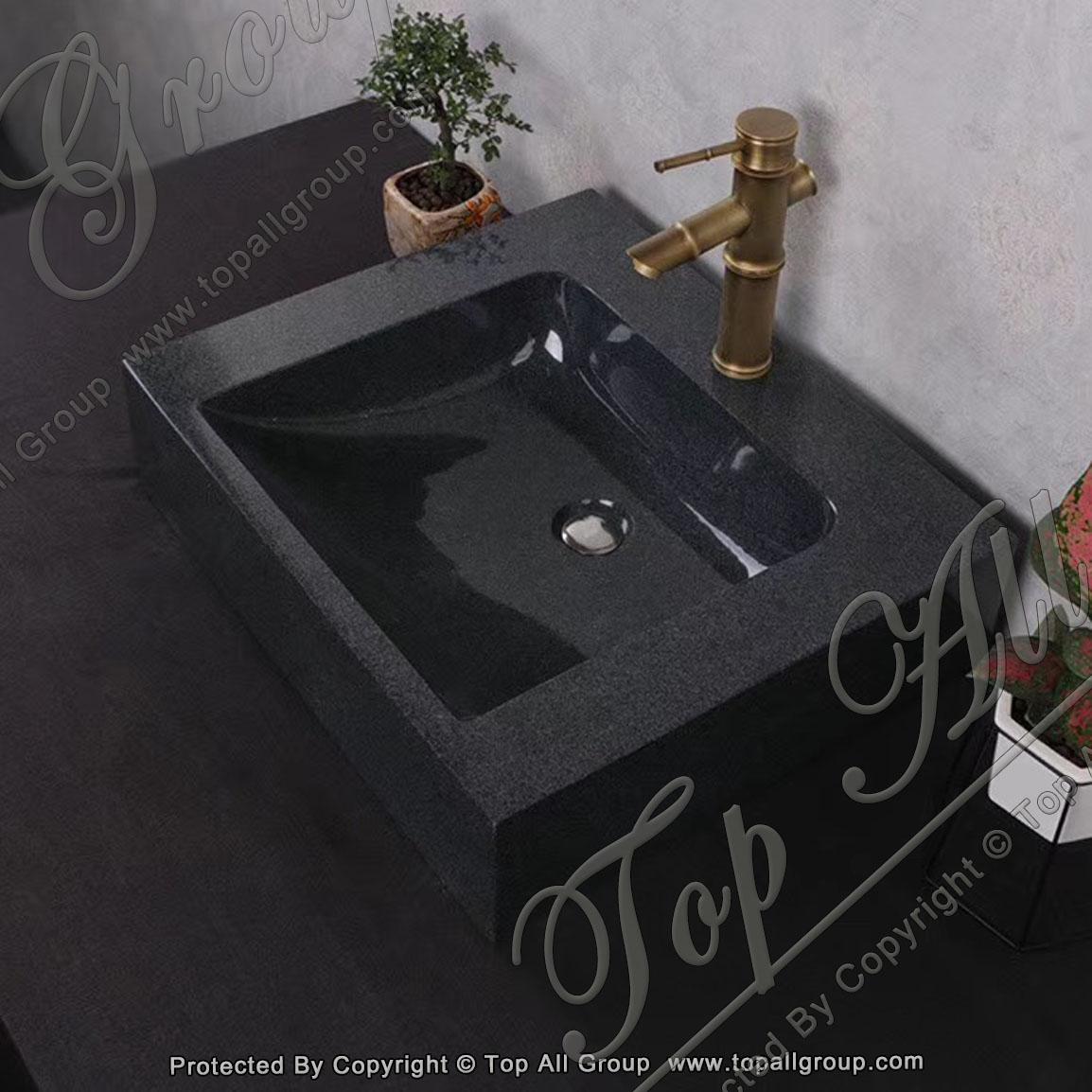 Hot Sale Natural Hand Crafts Granite Sink for Home