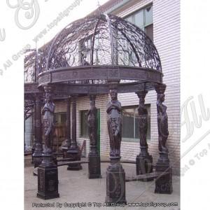 Iron statue garden gazebo TAGG-037