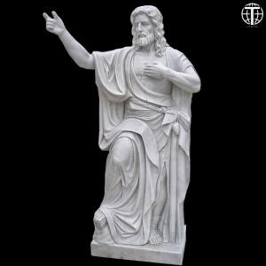 John The Baptist Come Unto Me Marble Statue TARS019