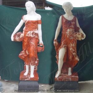 Life size women four season marble sculpture for garden TPFSS-030
