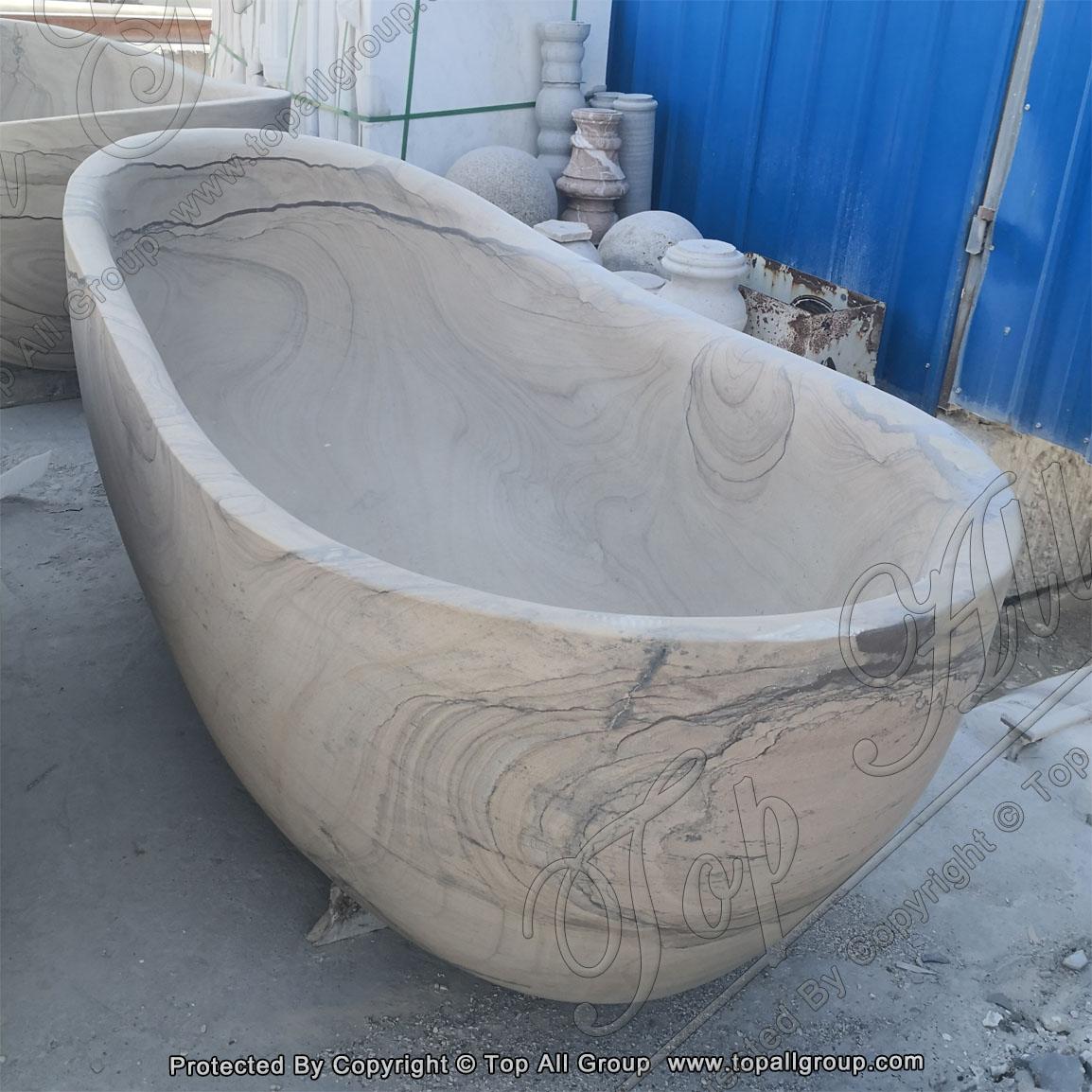Limstone Marble Bathtub