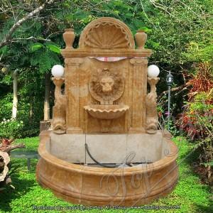 Lion Head Marble Wall Fountain TAGF-63