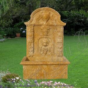 Lion Head Statue Marble Wall Fountain TAGF-82