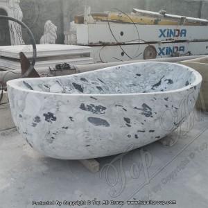 Marble Egg-Shape Bathtub TABT-022