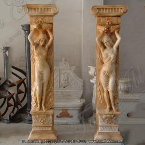 Marble pedestal column TAMC-033