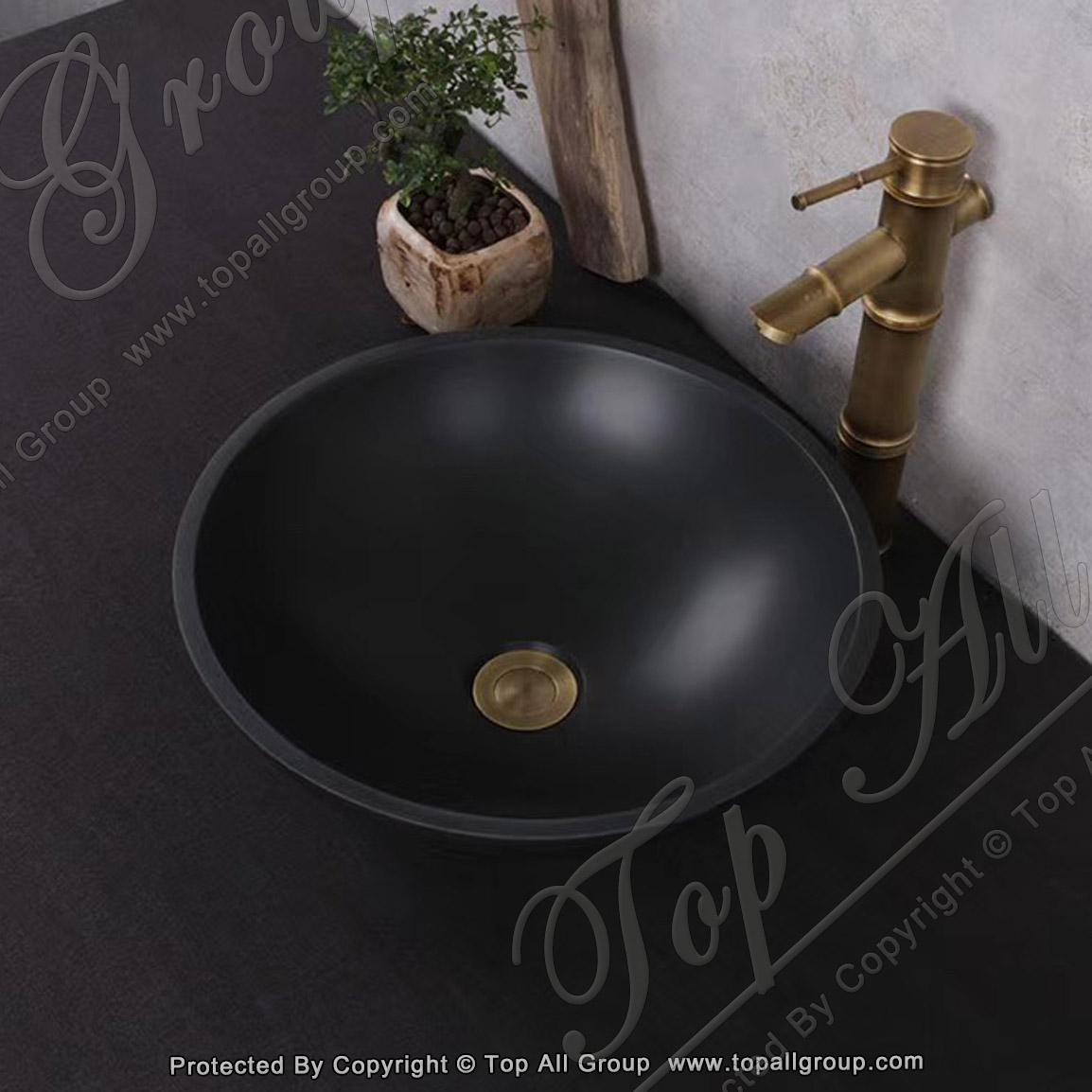 Nature Marble Granite Stone Bowl Sink