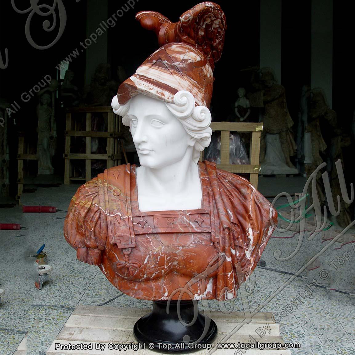 Roman Marble Bust Statue