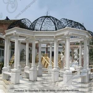 Roman style marble gazebo TAGG-033