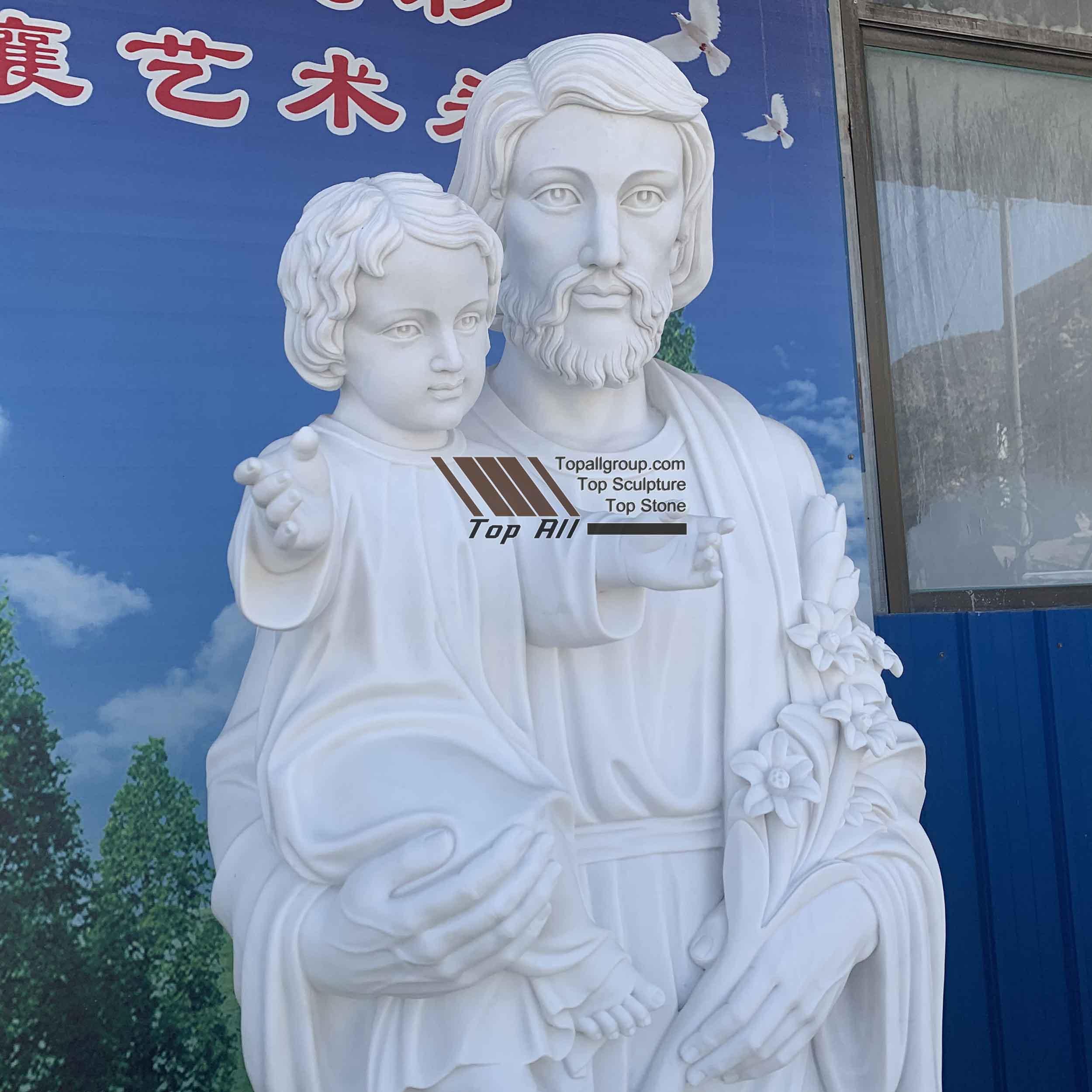 Saint Joseph with Baby 2