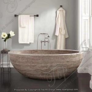 Stone Egg-Shape Bathtub TABT-018