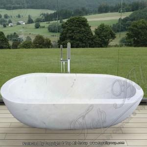 White Marble Bath Tub TABT-006
