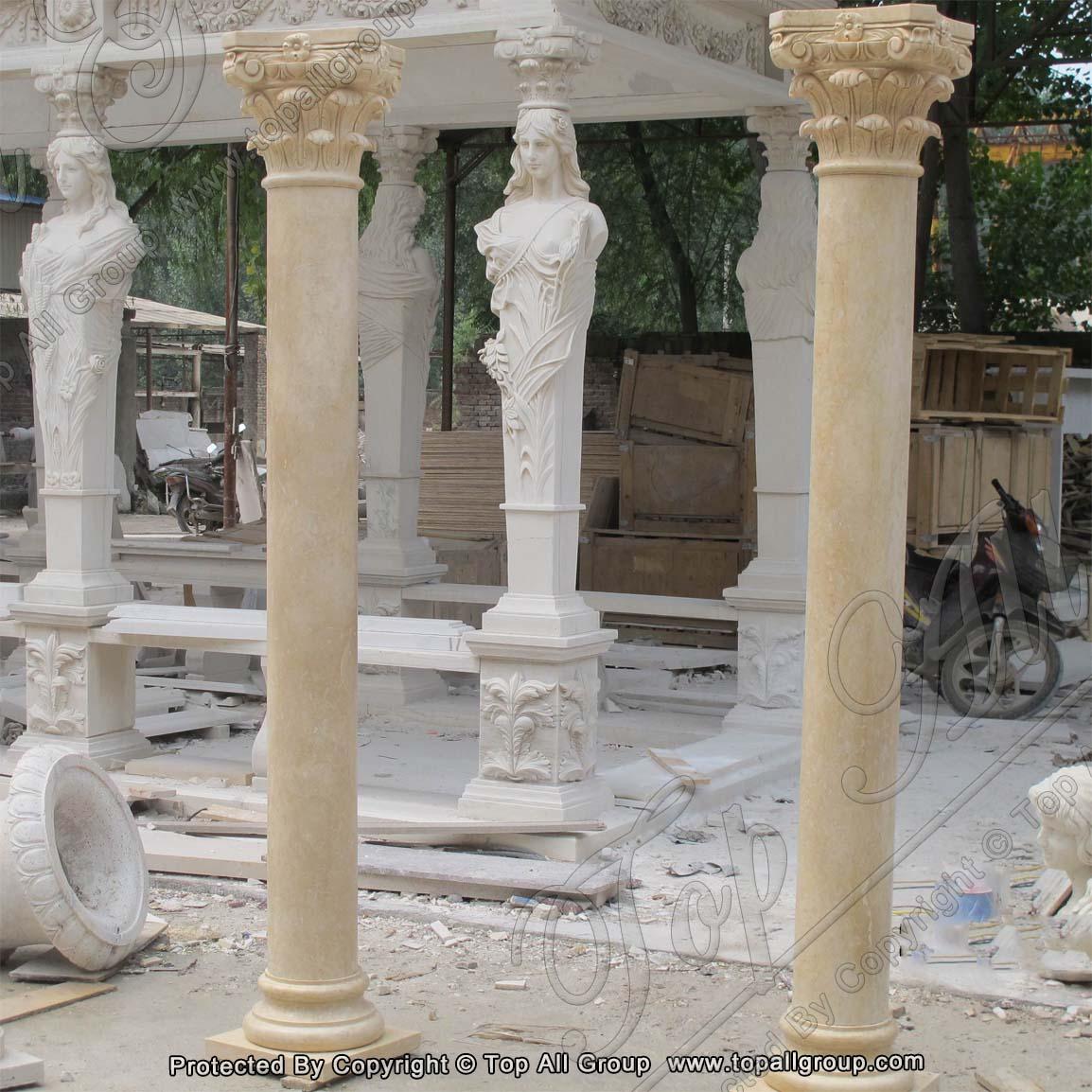 Wholesale Stone Roman Decoration Garden Outdoor