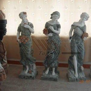 Life size marble four season sculpture TPAS-013